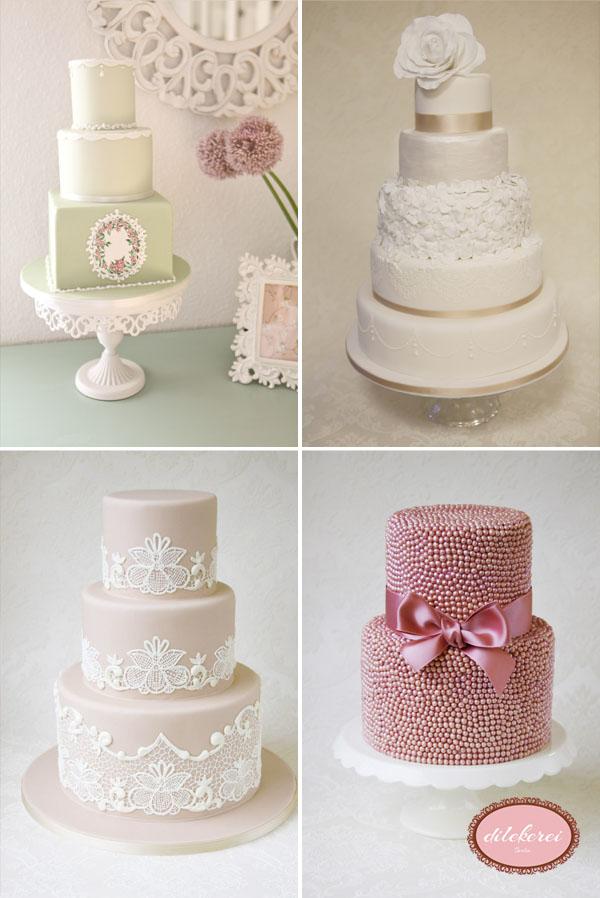 Dilekerei ~ zauberhafte Hochzeitstorten at its best!  evet ich will ...