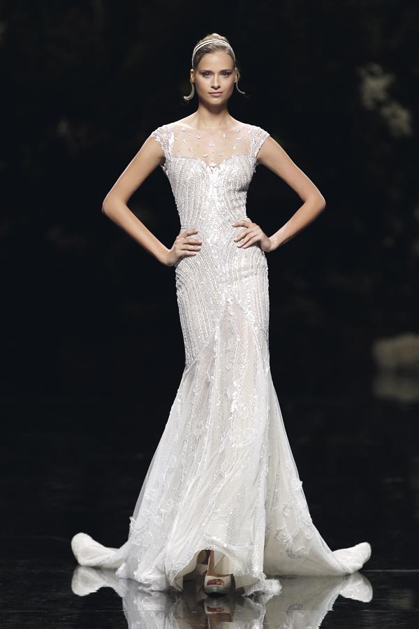 Kleid der Woche: Manuel Mota für Pronovias  evet ich will - der ...