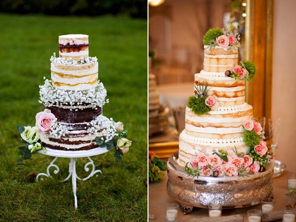 Naked Cake Die Nackte Hochzeitstorte Evet Ich Will