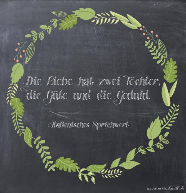 Über die Liebe Italienisches Sprichwort - evetichwill.de
