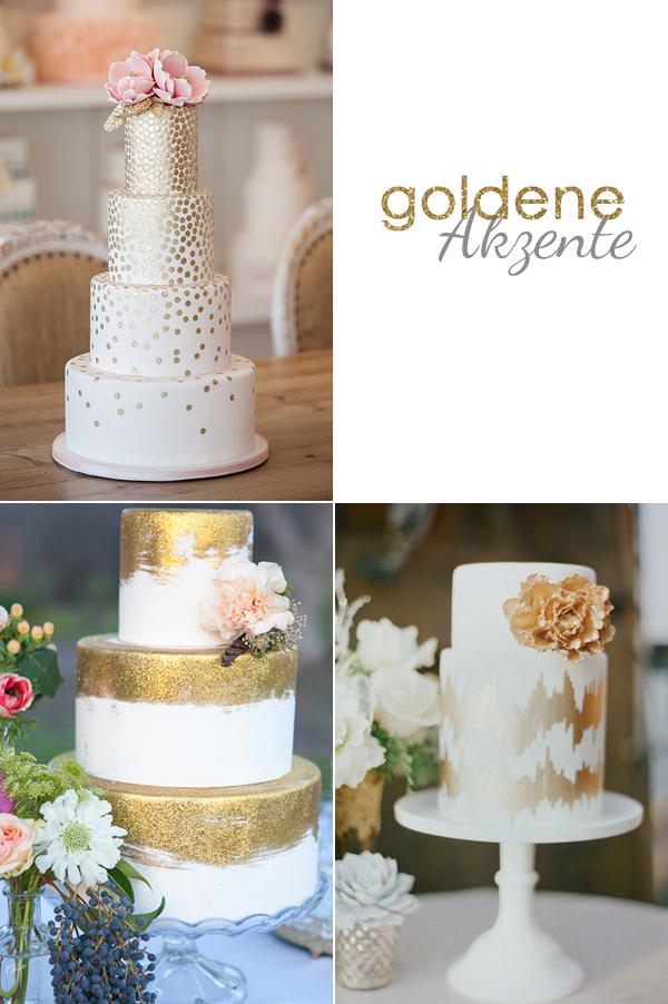 Hochzeitstorten Mit Goldenen Akzenten Www Evetichwill De