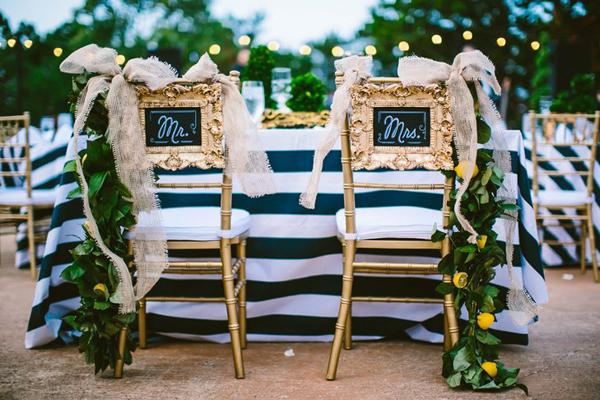 Stuhl Deko Hochzeit deko ideen für die brautpaar sitzplätze evet ich will