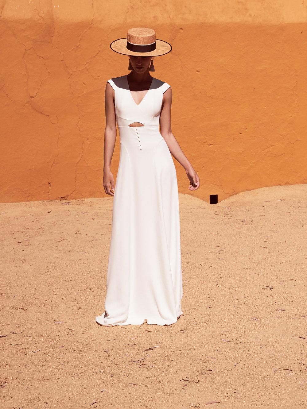 Kleid der Woche: Margaux Tardits Brautkleid Trajan