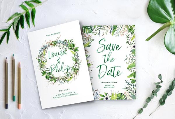 Hochzeitstipp Mehrsprachige Hochzeitseinladung Schlau Gelost