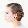 Oncewed Haartutorial - french braid bun