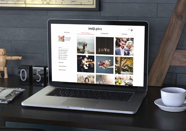 imiji online galerie zum sammeln von hochzeitsfotos