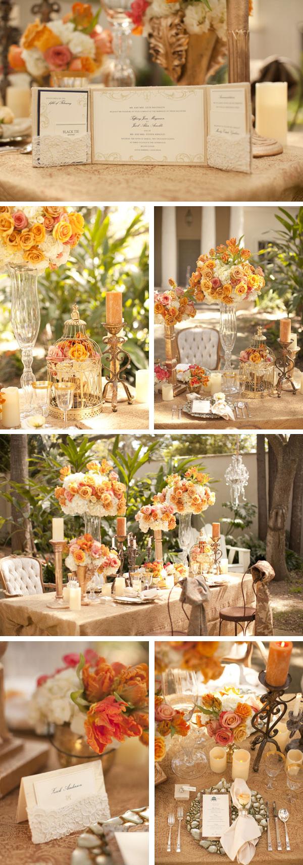 Hochzeit im Herbst Farben